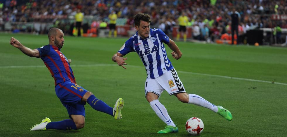 El Alavés-Barcelona se jugará el 26 de agosto