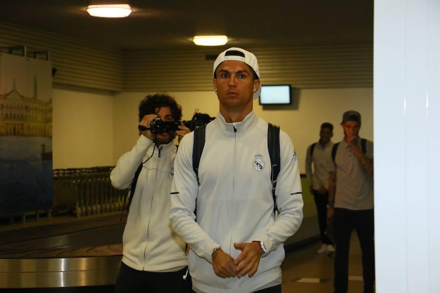 El Real Madrid ya está en Vitoria