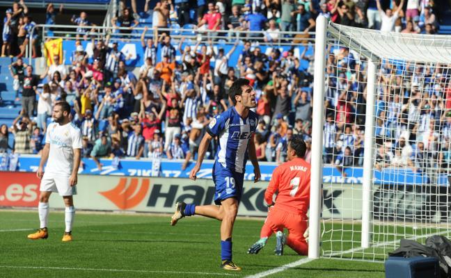 Manu García se reencuentra con el gol