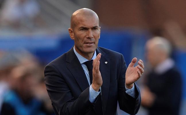 Zidane: «Siempre veo peligrar la victoria»