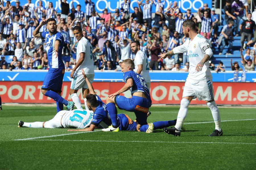 Así ha sido el encuentro entre el Alaves y el Real Madrid