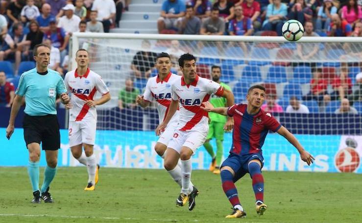Levante - Alavés, partido de Liga 2017-18