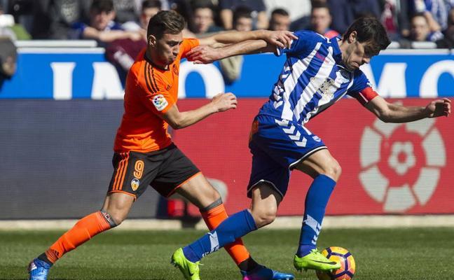 El Alavés recibirá al Valencia el sábado 28 de octubre a las 13.00 horas