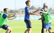 Ibai Gómez ya se entrena con el grupo y espera llegar al sábado
