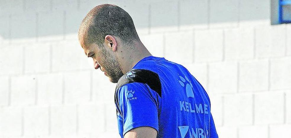 El Alavés estima que Laguardia podría entrenar con el grupo a partir de enero
