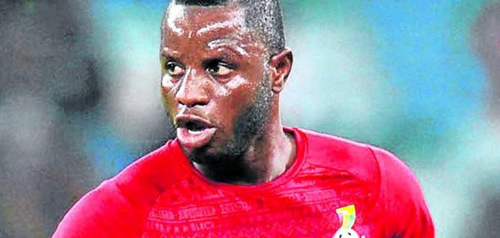 Wakaso disputó los 90 minutos en el empate de Ghana ante Egipto