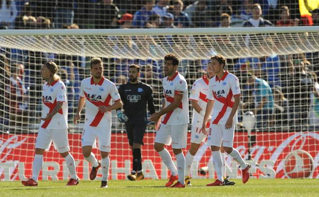Getafe - Alavés en directo: Liga Santander 2017-18, online