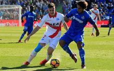 Vigaray regresó de Getafe con un golpe en la rodilla
