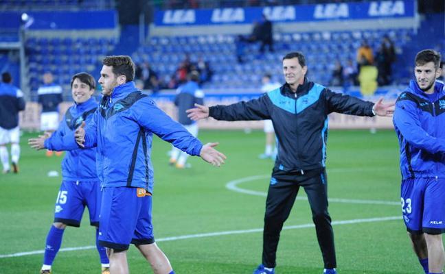 Burgui vuelve al once ante Las Palmas