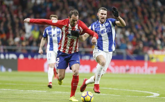 Así ha sido el encuentro entre el Atlético de Madrid y el Alavés