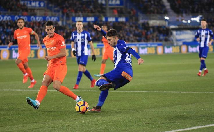 Fotos del Alavés - Málaga
