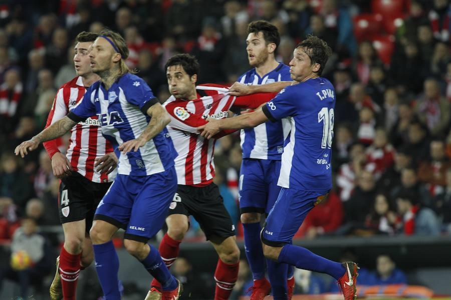 Así ha sido el encuentro entre el Athletic y el Alavés