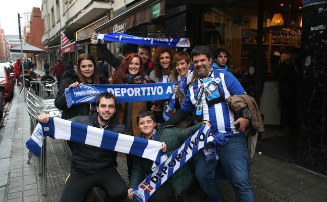 Así se han vivido las horas previas al encuentro entre el Athletic y el Alavés