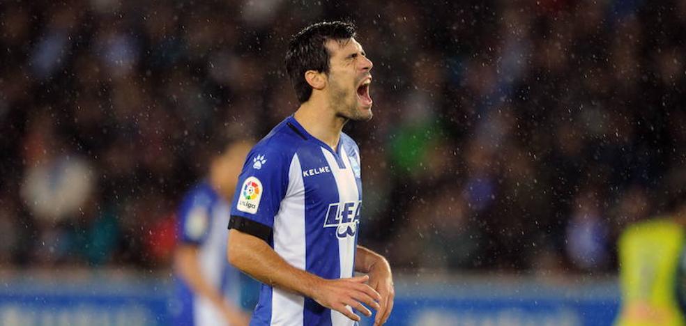 Manu García, duda por lesión para el encuentro de este domingo ante el Leganés