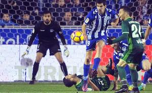El Alavés - Betis se jugará el lunes 12 de marzo