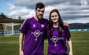 El Alavés crea una camiseta por el Día de la Mujer con la que sólo jugará el equipo femenino