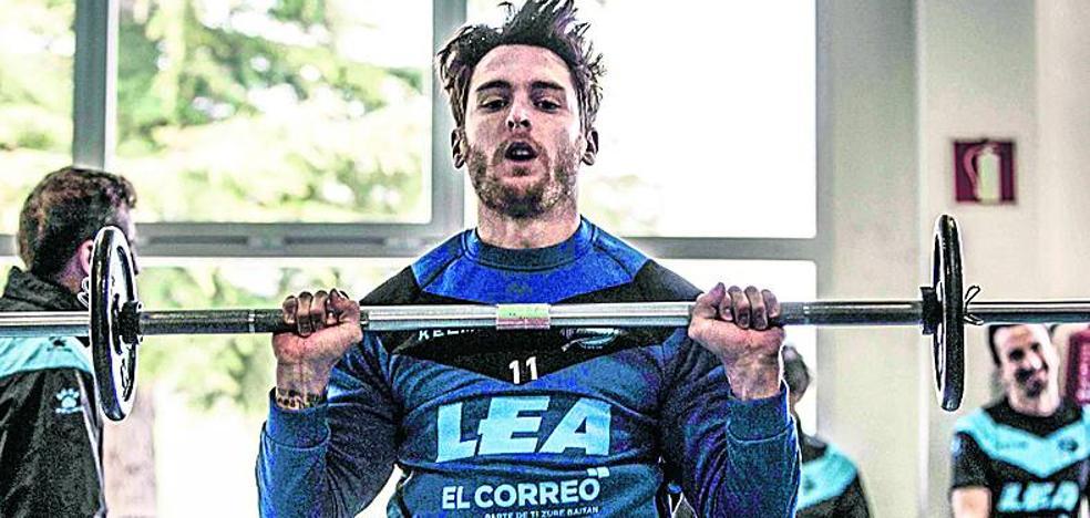 Ibai Gómez se entrena y apunta al duelo del sábado en Mendizorroza