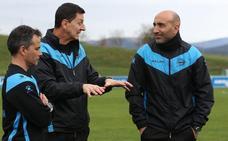 Abelardo: «Si ganamos dos de estos tres partidos, el objetivo estará cumplido»