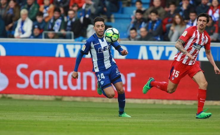 Fotos del Alavés - Atlético de Madrid