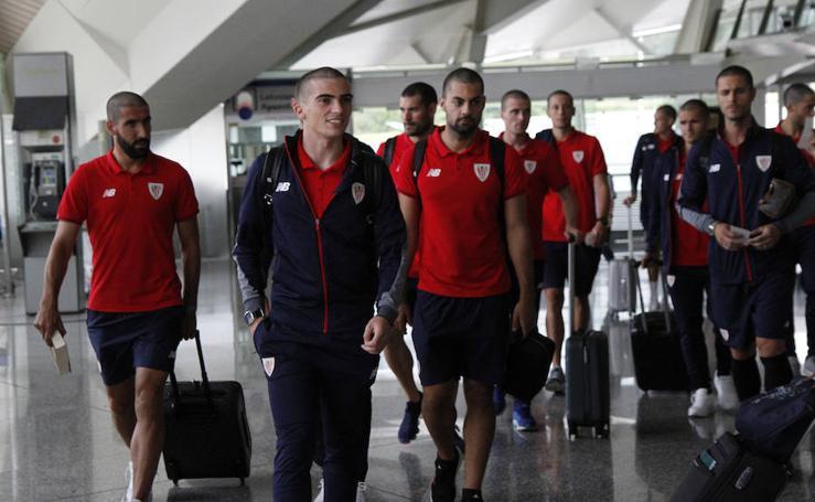 Los leones parten hacia Suiza