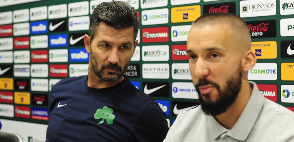 El entrenador del Panathinaikos: «Sería un error salir a defenderse ante el Athletic»