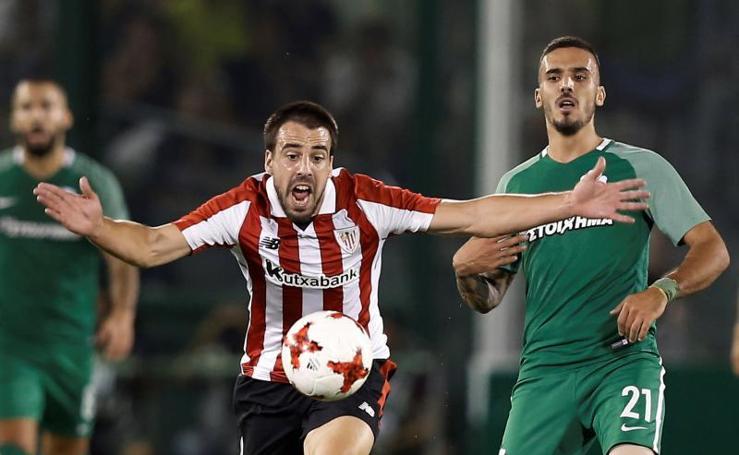 Las mejores imágenes del partido Panathinaikos - Athletic