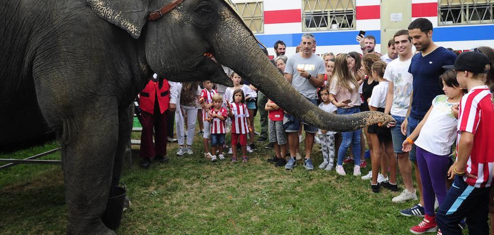 El Athletic acude al Gran Circo Mundial
