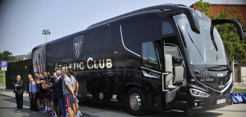 El nuevo autobús del Athletic