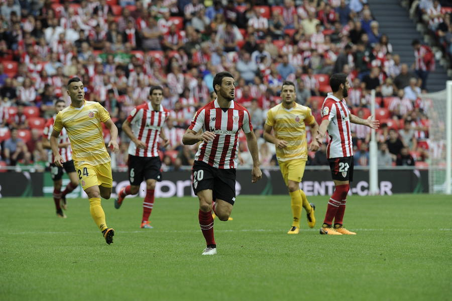 Athletic-Girona, en imágenes