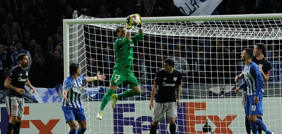 Herrerín, en el equipo de la semana de la Europa League