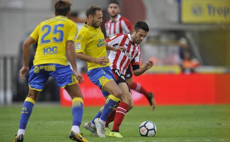 Las mejores imágenes del partido de Liga entre Las Palmas y Athletic