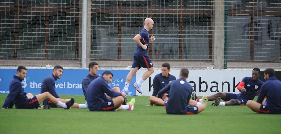 El Athletic vuelve al trabajo sin De Marcos ni Rico pero con Yeray