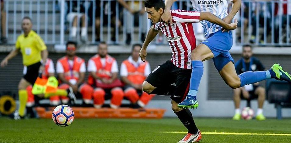 El Athletic ha ganado en dos de sus últimas cuatro visitas al Málaga