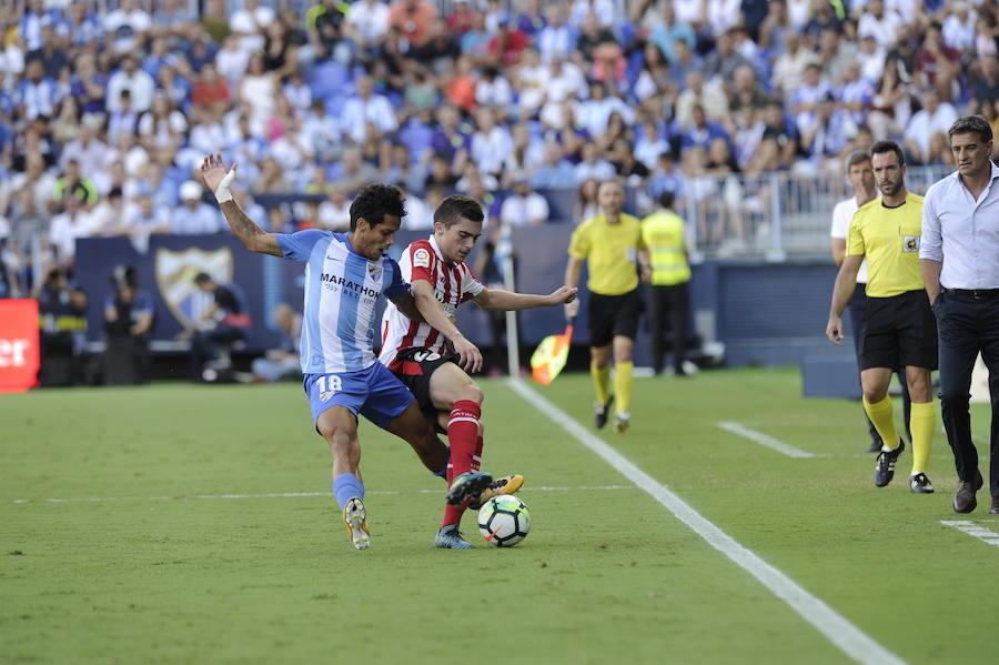 Las mejores imágenes del Málaga - Athletic