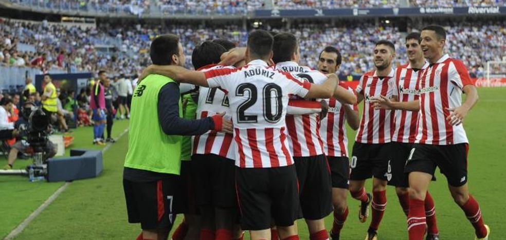 Málaga - Athletic en directo: La Liga 2017-18, online