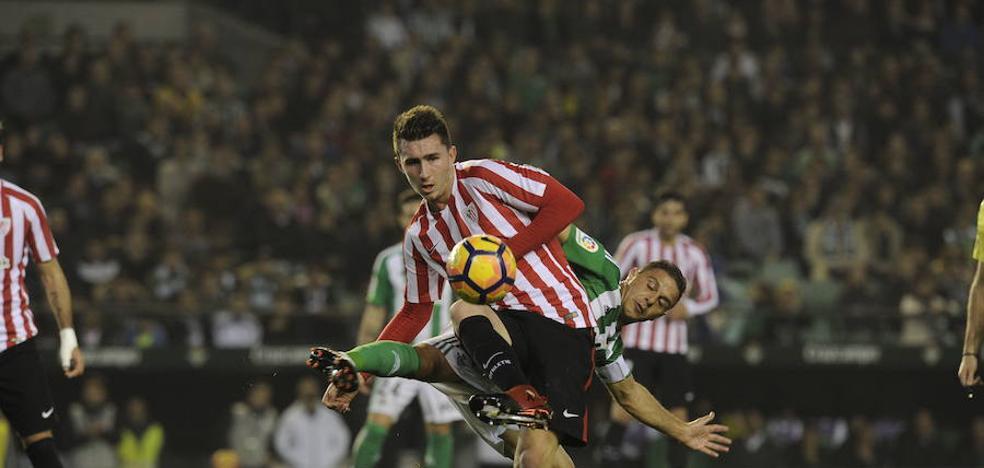Laporte cumplirá 150 partidos de Liga con el Athletic