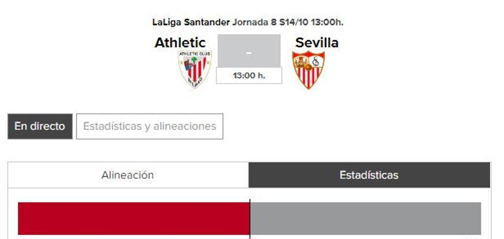Athletic - Sevilla: horario y TV