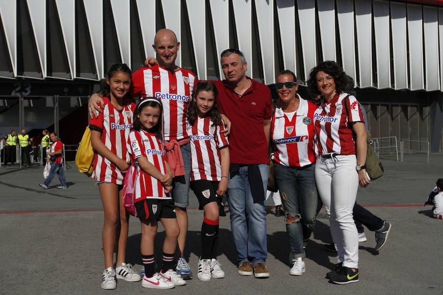 San Mamés disfruta en familia del fútbol matutino