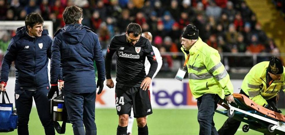 San José y Balenziaga, dudas para el partido del domingo en Leganés