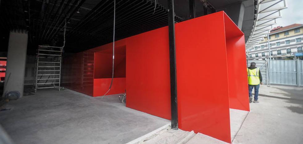 La empresa encargada de las obras del Museo de San Mamés no cumplió el convenio del sector