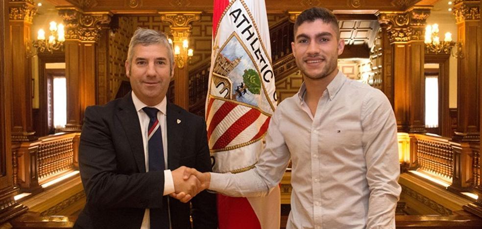 El Athletic confirma la renovación de Unai Núñez