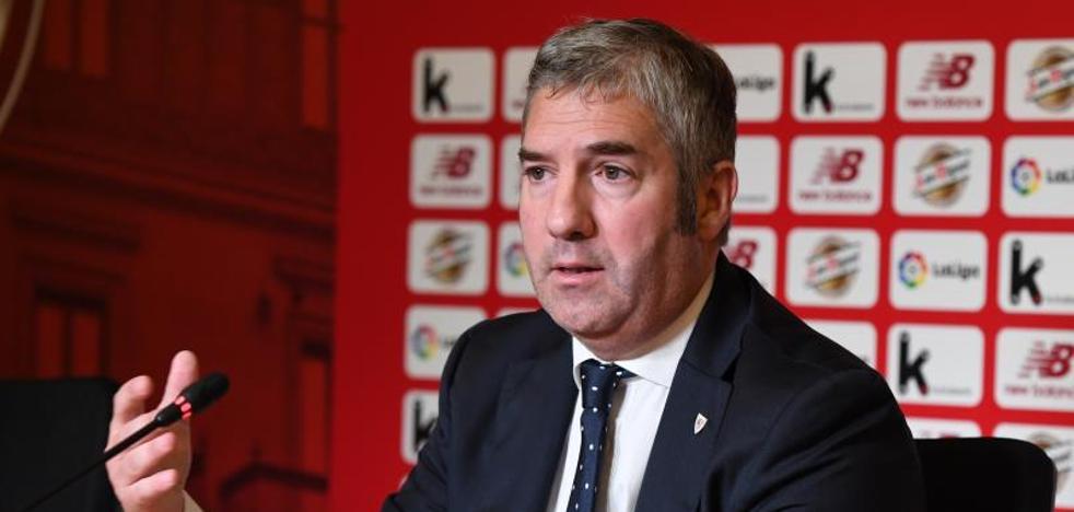 Urrutia: «El Athletic no tiene que pedir perdón por cómo quiere hacer las cosas»