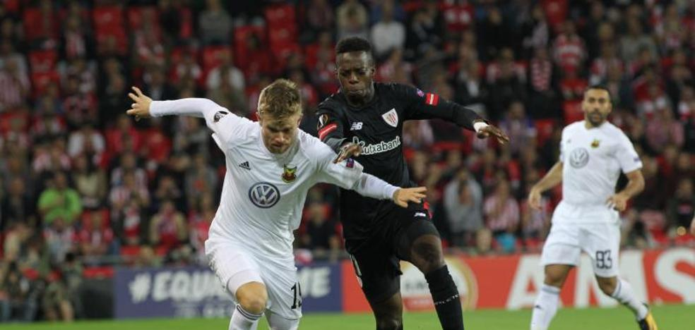 Athletic - Östersunds en directo: Europa League 2017-18, online
