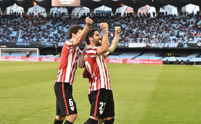 El Athletic ha ganado en sus tres últimas visitas a Vigo
