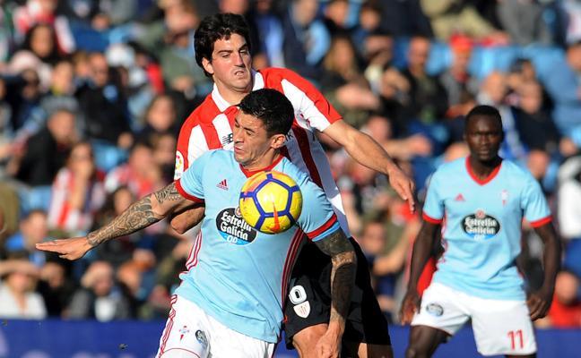 Celta - Athletic en directo: Liga 2017-18, online