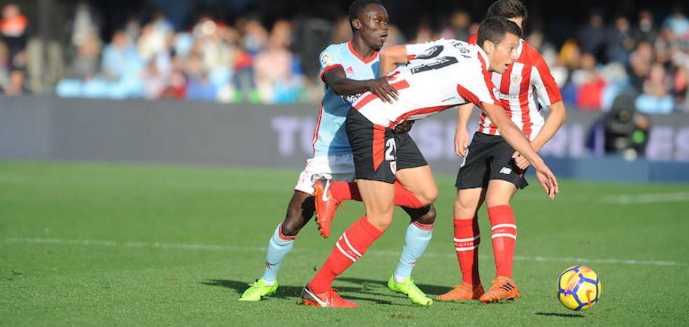 Vesga no jugará contra el Villarreal