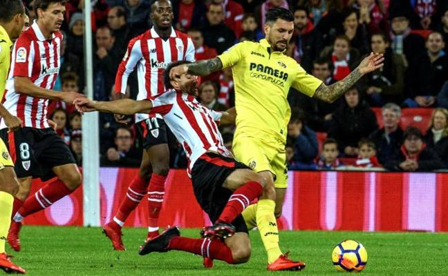 Athletic - Villarreal en directo: Liga 2017-18, online