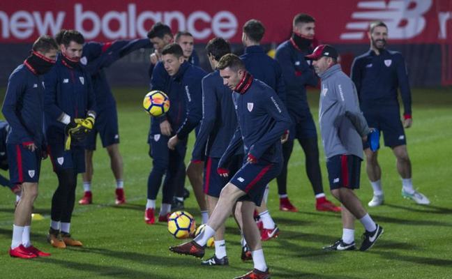 El Athletic afronta ocho partidos en un mes en tres competiciones