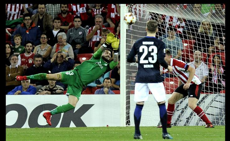 Athletic - Hertha, en imágenes