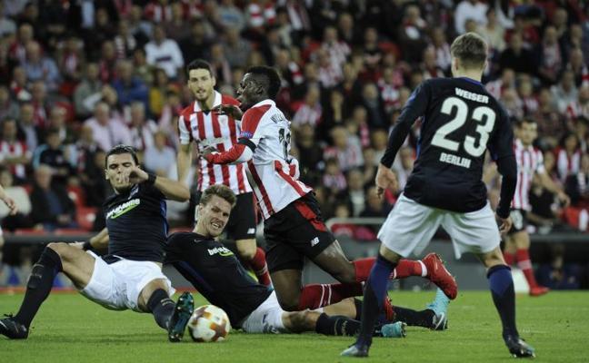 Athletic-Hertha en directo: Europa League 2017-18, online